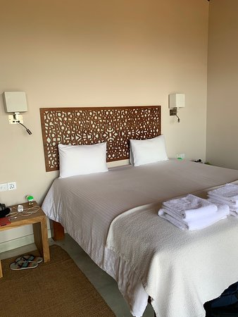 Rooms are spacious and comfortable. Good shower and plenty of hot water.