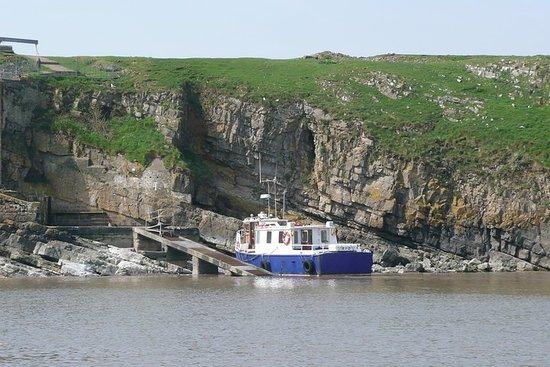 Visite de l'île Flatholm depuis...
