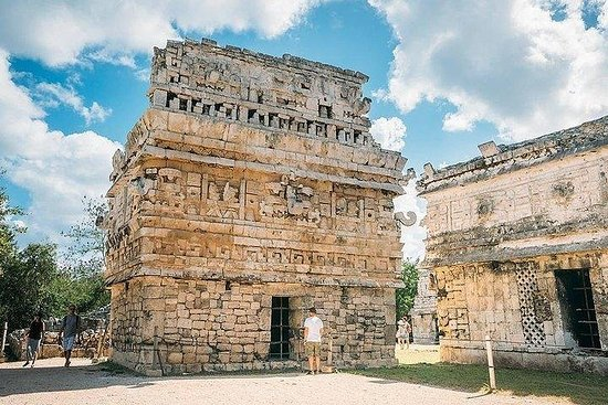 Excursão clássica Chichen Itza, Cenote...