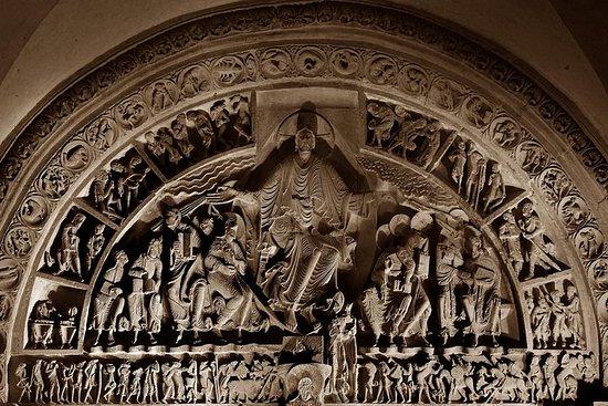 Projection du film sur le Grand Tympan de Vézelay, chef d'oeuvre de...