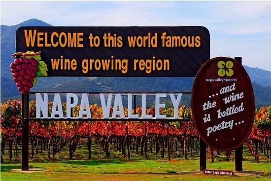 Napa Valley vinsmagningsdagstur