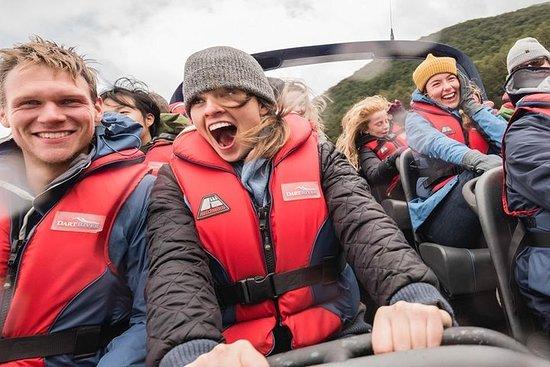 飞索游览组合:包括皇后镇的达特河荒野喷射船