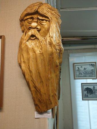 Milkovo, Russia: В музее представлены работы мастеров народного творчества из с. Мильково.