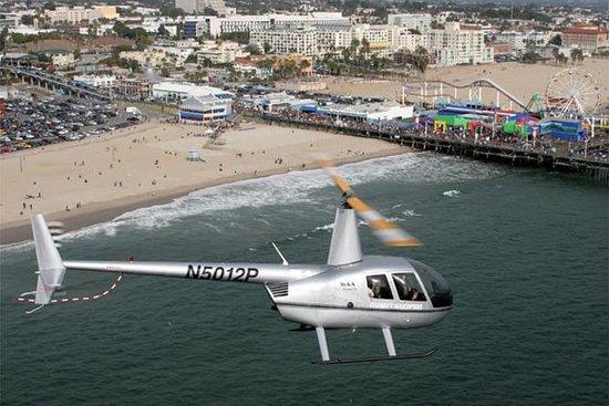 Vol en hélicoptère à Los Angeles Beach Cities Photo