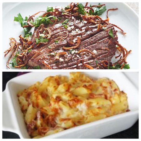 Martinik: Bavette pœllée gratin de pâtes 10€ Bon appétit (57 Rue Isambert 97200 FORT DE FRANCE)