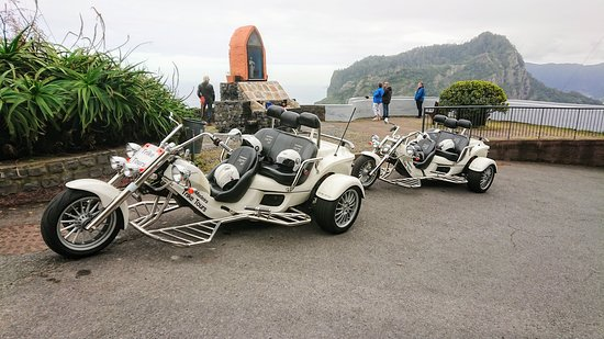Madeira - 4 Hour tour as passenger, our driver (1 to 2 people - price per Trike): Photo Stop