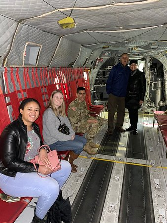 Fort Rucker, AL: Inside a Chinook helicopter that's inside the U.S. Army Aviation Museum.