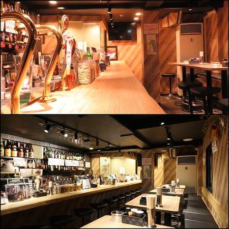 Nagoya, Japan: 当店の内装です!アットホームなお店で店員さんもかなりフレンドリーな人揃いなので気楽に1人でも来られるお店ですよ。 自分だけの行きつけの隠れ家として使って貰っても楽しめるお店なので、是非!