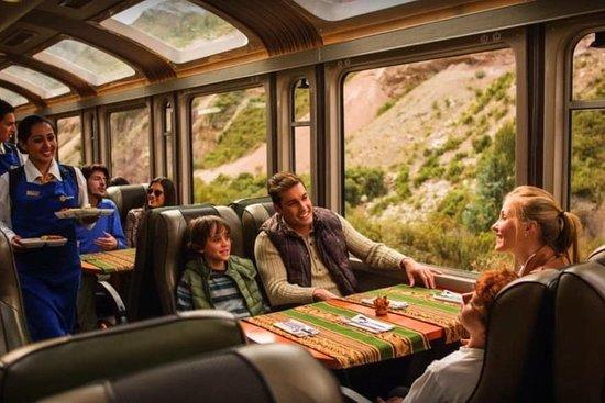 搭乘火车全天游览马丘比丘