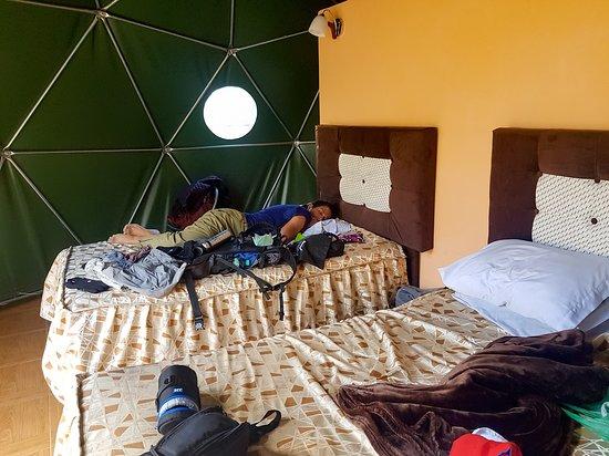 Limatambo, Перу: não há qualquer tipo de calefação