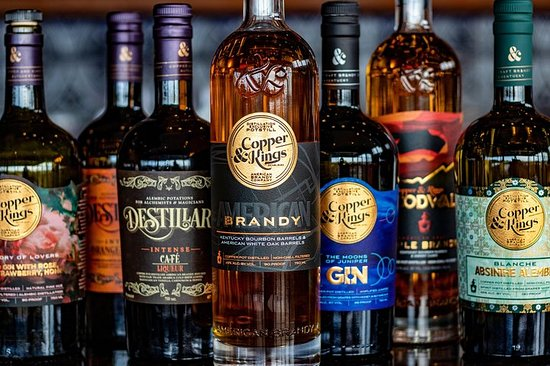 The Copper & Kings Distillery Tour...