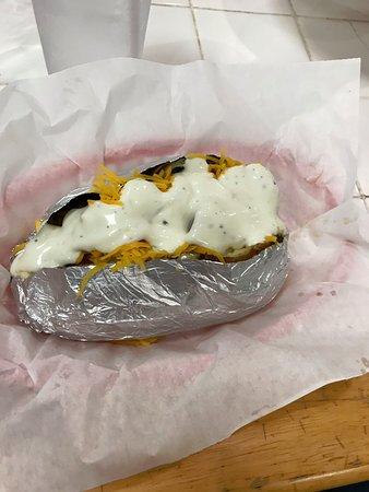 Wedowee, AL: baked potato