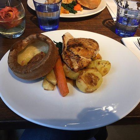Wonderful roast dinner.