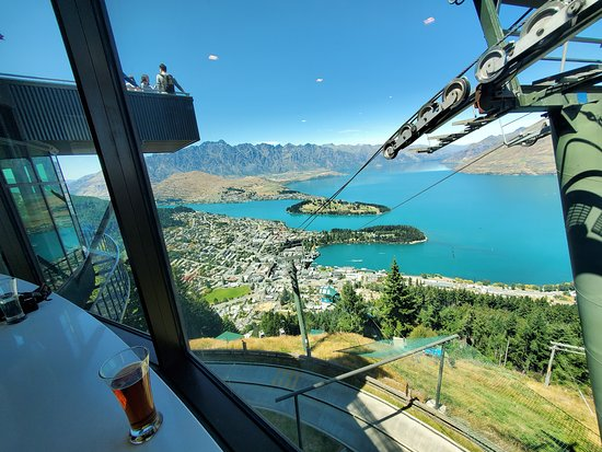 View from the bar at Skyline Gondola
