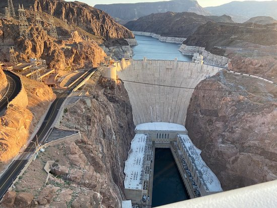 Grand Canyon Helicopter Tour with Landing and Hoover Dam Photo Stop: Hoover Dam