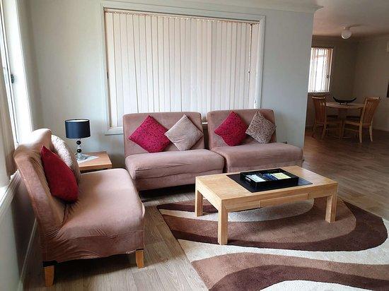 Corporate Villa Living Area