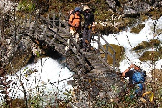 Trekking sur le lac vert du Sikkim...