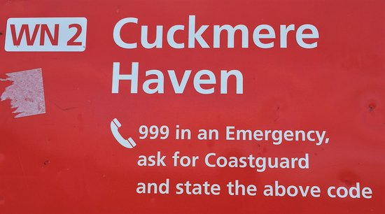 1.  Cuckmere Haven, Seaford, East Sussex