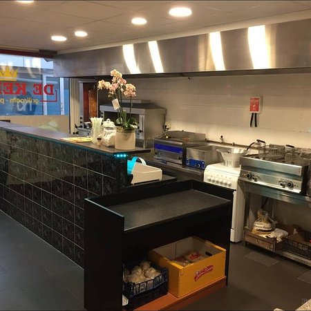Raamsdonksveer, Países Bajos: Binnen bij de keizer grillroom & Pizzeria