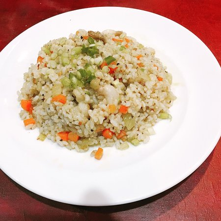 Organic Garlic brown rice Gluten Free