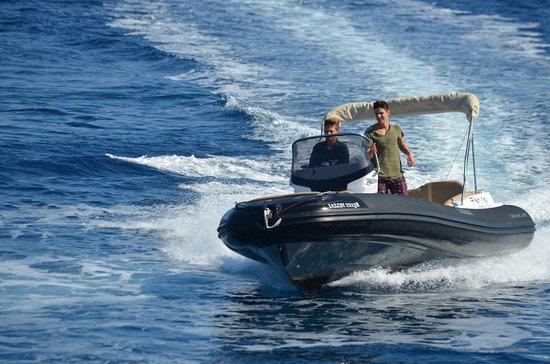 Panos Boats & Trips: 115 HP RIB_Paxos Boat Rental