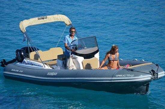 Panos Boats & Trips: 115 HP RIB_Paxos Boat Hire