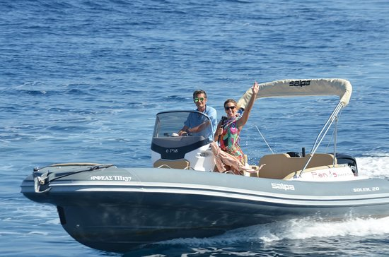 Panos Boats & Trips: 115 HP RIB_Paxos Boats