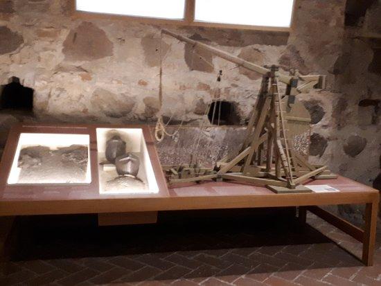 A történeti múzeum a toronyban