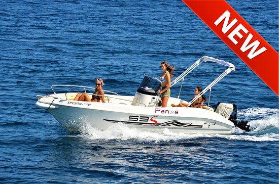 Panos Boats & Trips: Trimarchi 53S-New boat for rent in Paxos-No license needed