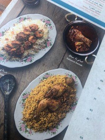 Ντουμπάι, Ηνωμένα Αραβικά Εμιράτα: Oreintal emariti sea food restaurant