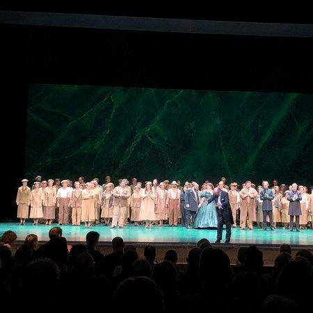 Super voorstelling van opera Nabucco