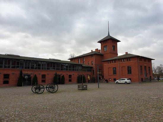 Nauen, เยอรมนี: Gelände und Einblick in eines der Tagungsgebäude