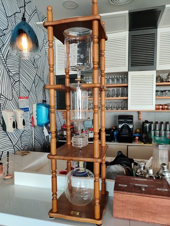Coffee laboratory!