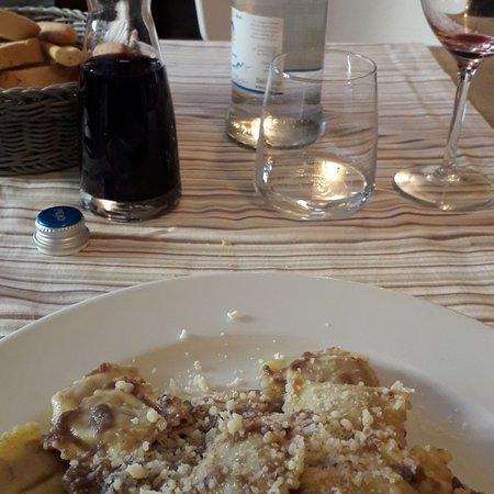 Bosmenso Superiore, Италия: Ristorante buscone