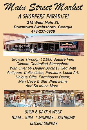 A Shoppers Paradise!
