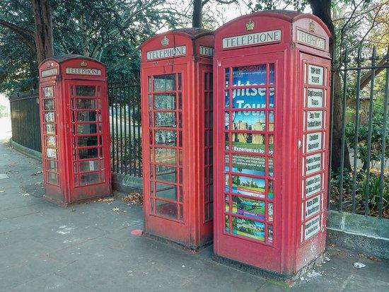 Cabinas Rojas de Londres
