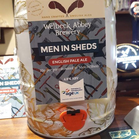 Carlton in Lindrick, UK: I enjoy Monday evening at Grey Horse Inn with some friends drinking a new beer under the name of Men in Sheds. Which is IPA and it very nice to drink some of the money raised go to the Men in Sheds Worksop which is a small  Charity.