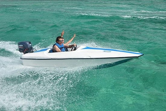 Sortie en hors-bord Bavaro Splash