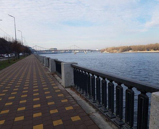 Klitschko Pedestrian-Bicycle Bridge