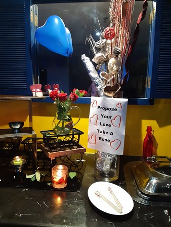Valentine's Day Eve at Naadody Restaurant, Regency Tirunelveli