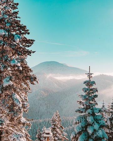 Kastamonu Province, Turki: The Mount Ilgaz National Park has a rich ecosystem. With its beautiful views, it's almost like a winter fairyland! #Ilgaz #GoTurkey
