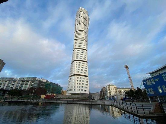 Foto aan de toren