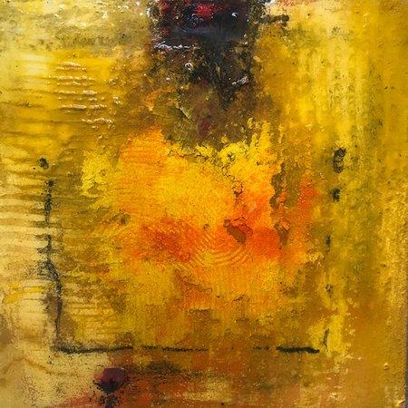 Yvonne van der Graaf | beeldend kunstenaar   Gemengde techniek op paneel