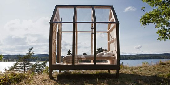 Bengtsfors, Sweden: 72 hr nature accommodation in glass cabin