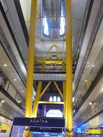 Inside Las Arenas shopping mall 1
