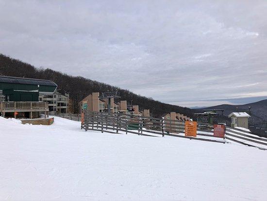 View of resort area