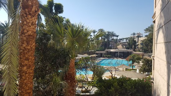 Pavillon Winter Luxor: view from room balcony