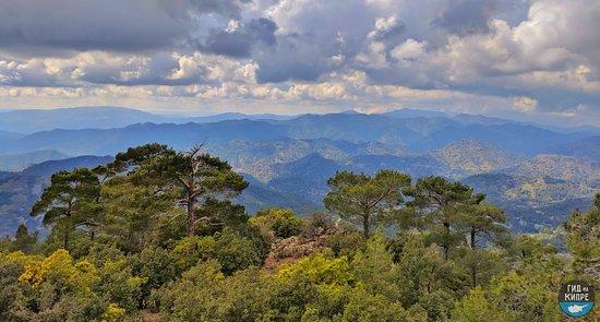 Горы Троодоса