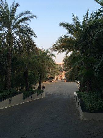 Výjezd z hotelu