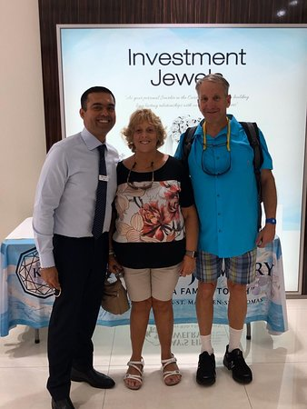 One of the Owner's son visiting our Nassau store to meet with KFJ Faithful from NY!